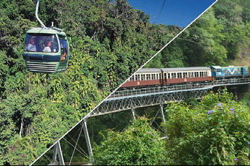 Skyrail and Kuranda Scenic Train